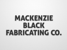 Mackenzie Black Fabricating Co. Ltd.